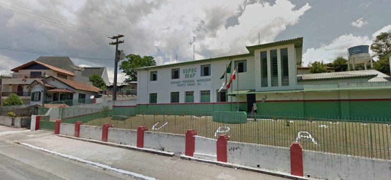 67 detentos da UPA de Porto União testaram positivo para a Covid-19 – Foto: Google Maps/Reprodução