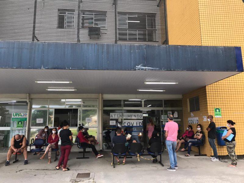 Com ocupação de 90,43% das UTIs, Santa Catarina passa por um dos momentos mais preocupantes desde o início da pandemia da Covid-19 no Estado – Foto: Leo Munhoz/ND