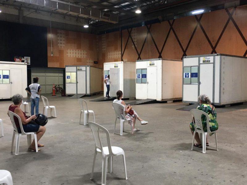 Blumenau abriu agendamento para dois grupos prioritários – Foto: PMB/Divulgação/ND