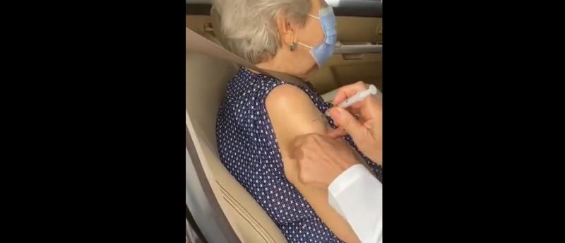 A vacinação já foi concluída em idosos que vivem em asilos – Foto: Youtube/Arquivo/ND