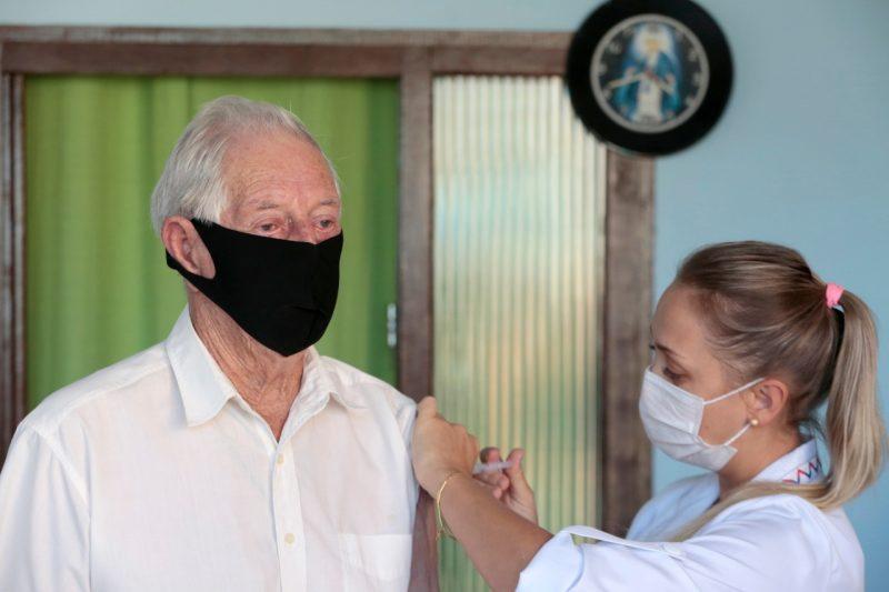 A estimativa é de vacinar 1,3 mil pessoas nesta fase – Foto: Divulgação/ND