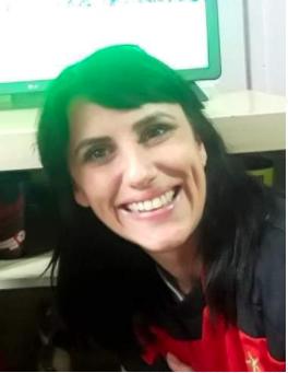 Soliane tinha 28 anos e morreu em Penha, no Litoral Norte do Estado – Foto: Reprodução Facebook/ND