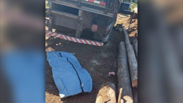 O acidente ocorreu na manhã desta sexta-feira (19). – Foto: WH3/Reprodução/ND