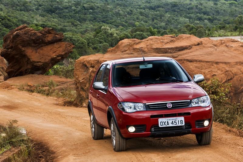 2- Fiat Palio: 42.424 unidades - Foto: Divulgação/Fiat/Garagem 360/ND