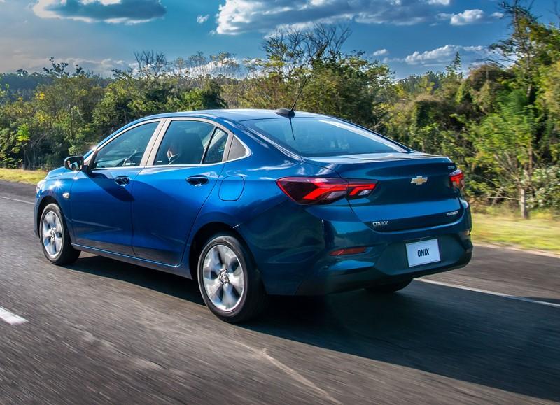 4- Chevrolet Onix Plus: 13.640 unidades - Foto: Divulgação/GM/Garagem 360/ND