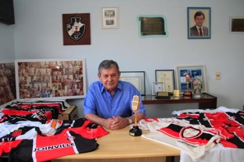 Marco Antônio foi um dos grandes nomes da imprensa esportiva de Joinville – Foto: