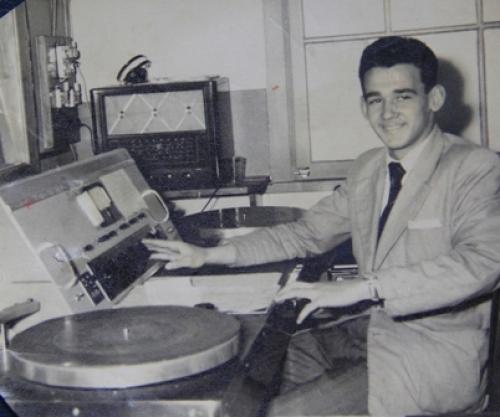 Ele foi um dos pioneiros na cobertura do JEC – Foto: Arquivo pessoal/Divulgação/ND