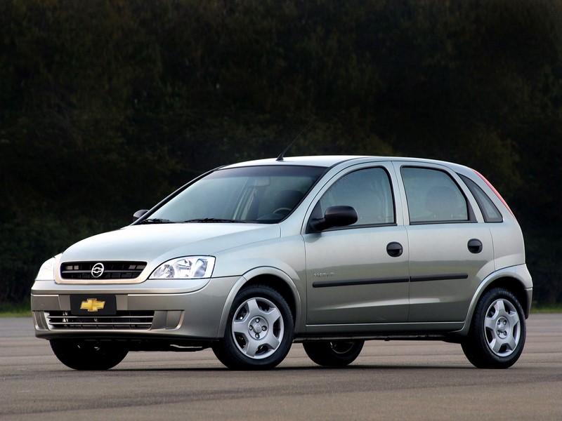 11- Chevrolet Corsa: 19.349 unidades - Foto: Divulgação/Chevrolet/Garagem 360/ND