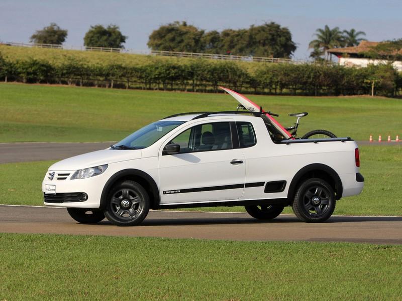 12- Volkswagen Saveiro: 18.012 unidades - Foto: Divulgação/VW/Garagem 360/ND