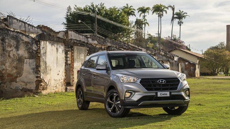 13- Hyundai Creta: 8.893 unidades - Foto: Divulgação/Hyundai/Garagem 360/ND