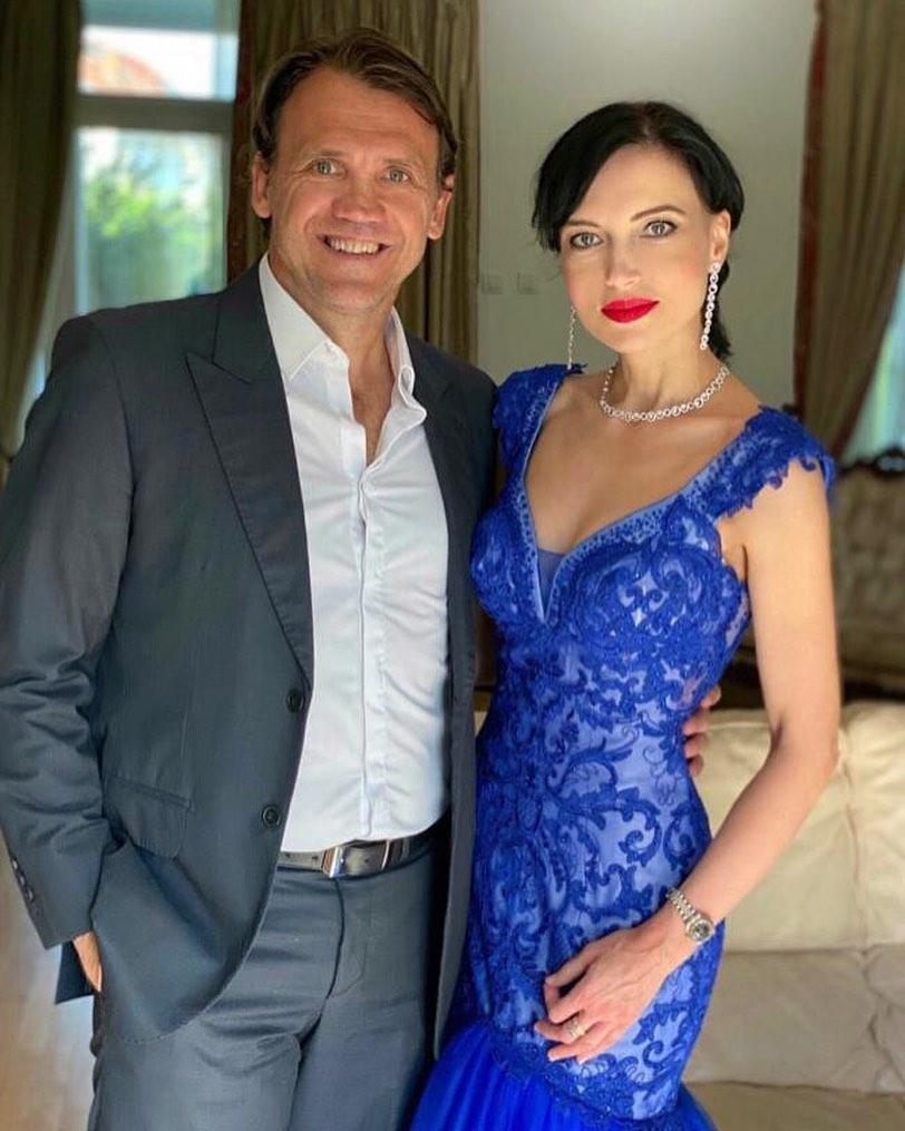 Jogador Djan Petkovic e a esposa Violeta - Reprodução Instagram/ND