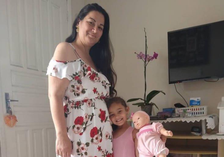 Patrícia deixa uma menina de 4 anos, além dos recém nascidos – Foto: Arquivo Pessoal/Divulgação
