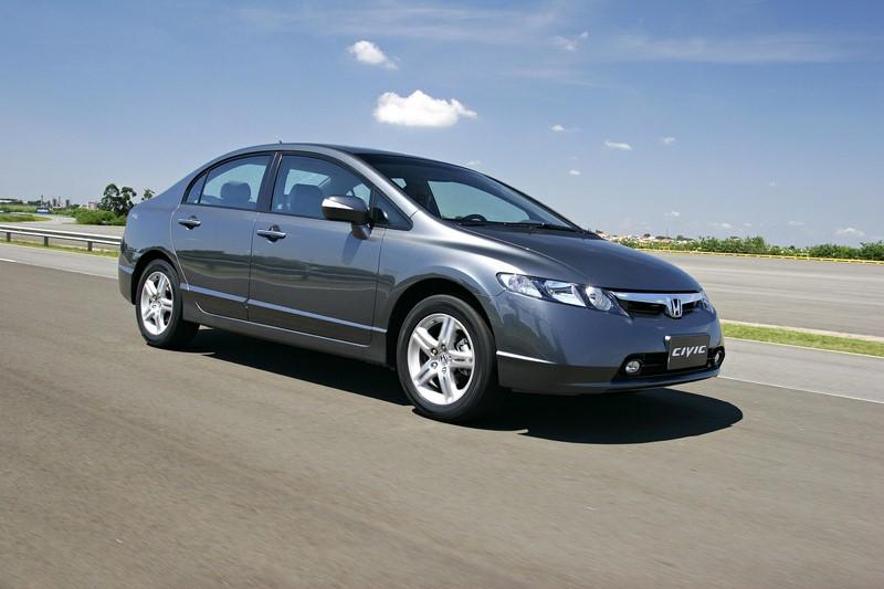 16- Honda Civic: 14.888 unidades - Foto: Divulgação/Honda/Garagem 360/ND