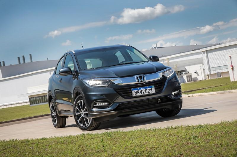16- Honda HR-V: 6.360 unidades - Foto: Divulgação/Honda/Garagem 360/ND
