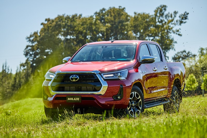 18- Toyota Hilux: 5.964 unidades - Foto: Divulgação/Toyota/Garagem 360/ND