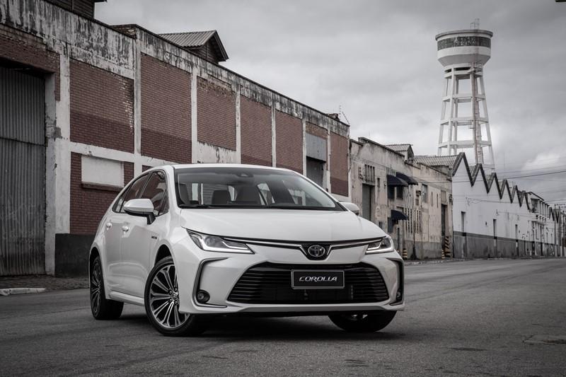19- Toyota Corolla: 5.041 unidades - Foto: Divulgação/Toyota/Garagem 360/ND