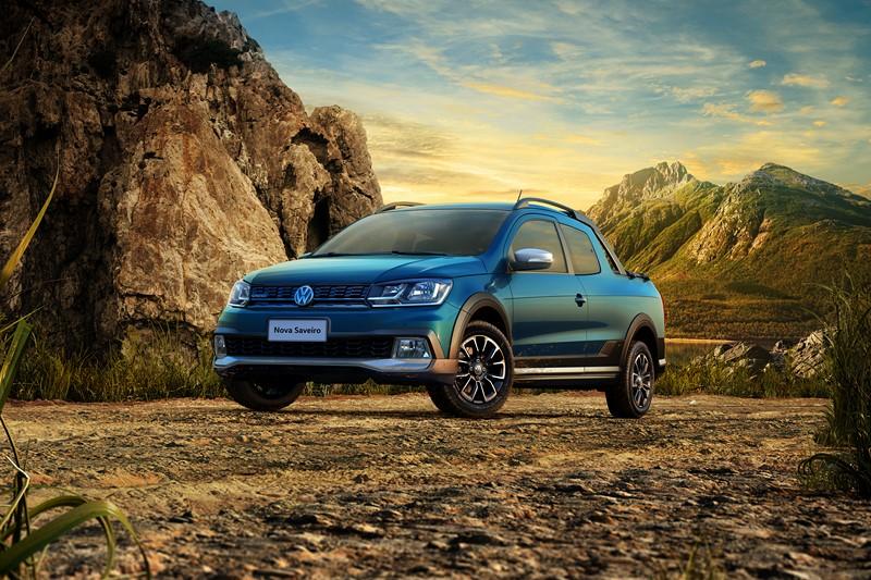 20- Volkswagen Saveiro: 5.019 unidades - Foto: Divulgação/VW/Garagem 360/ND