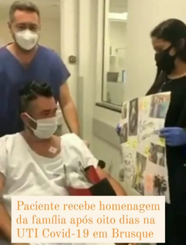 Paciente estava internado desde o dia 15 de março. Há 8 dias teve piora do quadro e foi para a UTI – Foto: Reprodução redes sociais