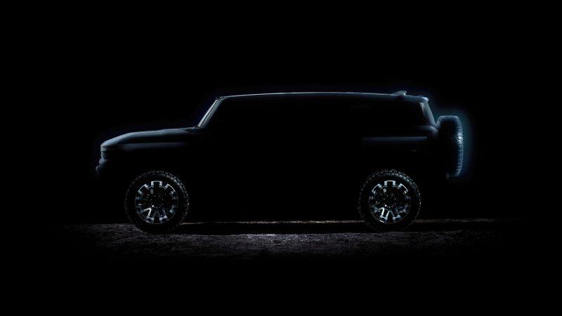 GMC revela data de lançamento do SUV elétrico do Hummer - Divulgação/GMC