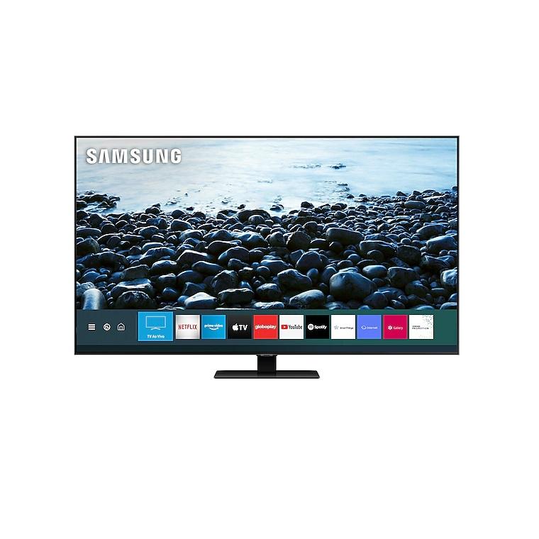 Smart TV Samsung Q80T. O teste completo você vê em - Foto: Divulgação/33Giga/ND