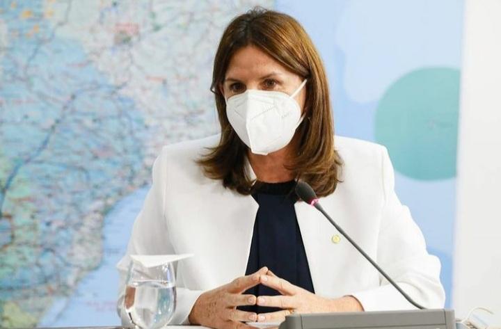 Secretaria de Saúde de Santa Catarina, Carmen Zanotto, deve ir a Brasília na próxima semana para tentar dar celeridade à vacinação no Estado – Foto: Reprodução/ND