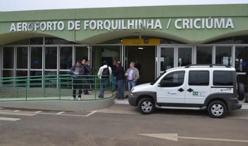 Aeroporto de Forquilhinha/Criciúma só para voos de aeronaves particulares – Foto: Arquivo Aeroporto Diomício Freitas