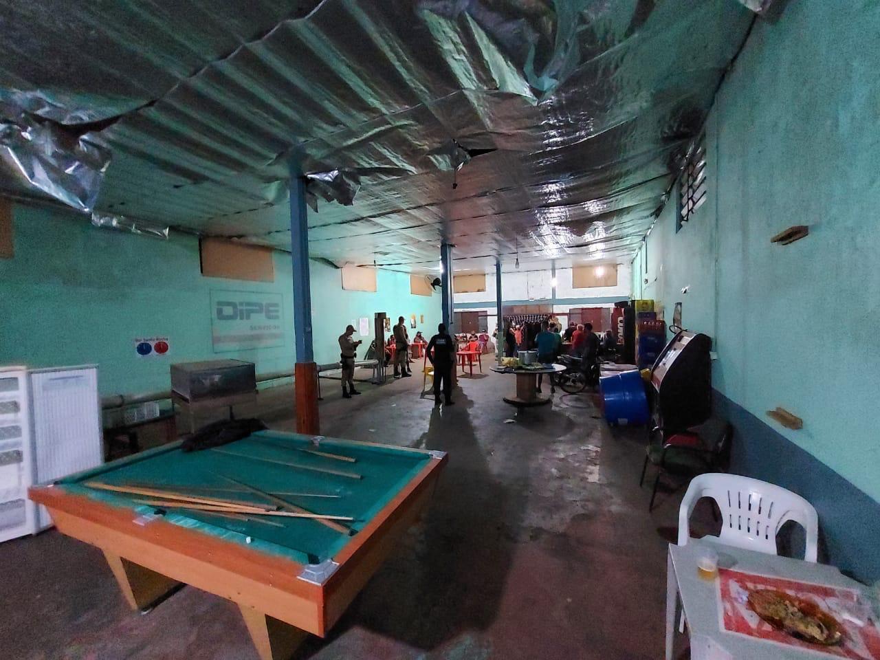Quatro estabelecimentos foram fechados - Prefeitura de Chapecó/ND