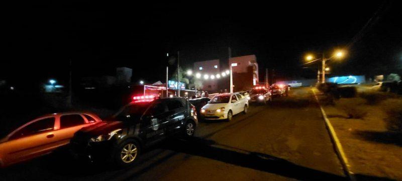 Um estabelecimento localizado nas proximidades da Unochapecó estava em pleno funcionamento com cerca de 60 pessoas no local– Foto: Prefeitura de Chapecó/ND