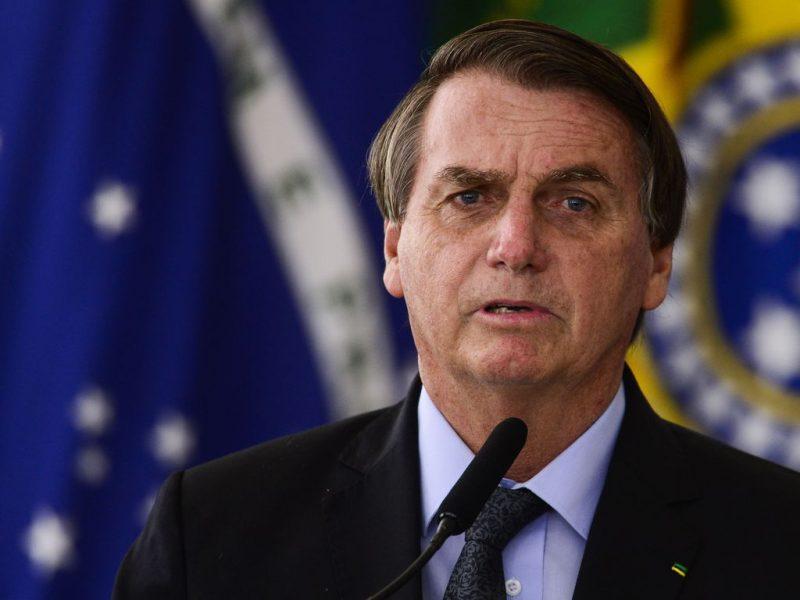 O presidente Jair Bolsonaro envia longa carta ao presidente dos Estados Unidos – Foto: Marcelo Camargo/Agência Brasil/ND