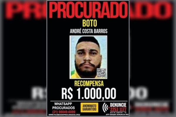 Bandido despista a polícia ao realizar harmonização facial – Foto: Divulgação Disque-Denúncia