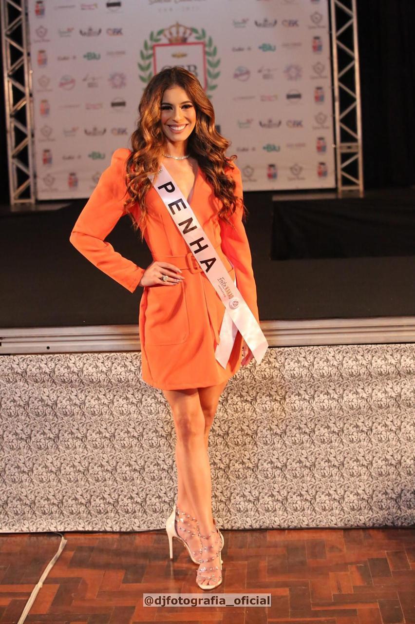 Sthefany Aragão, Miss Penha, ficou em segundo lugar no concurso - DJ Fotografia