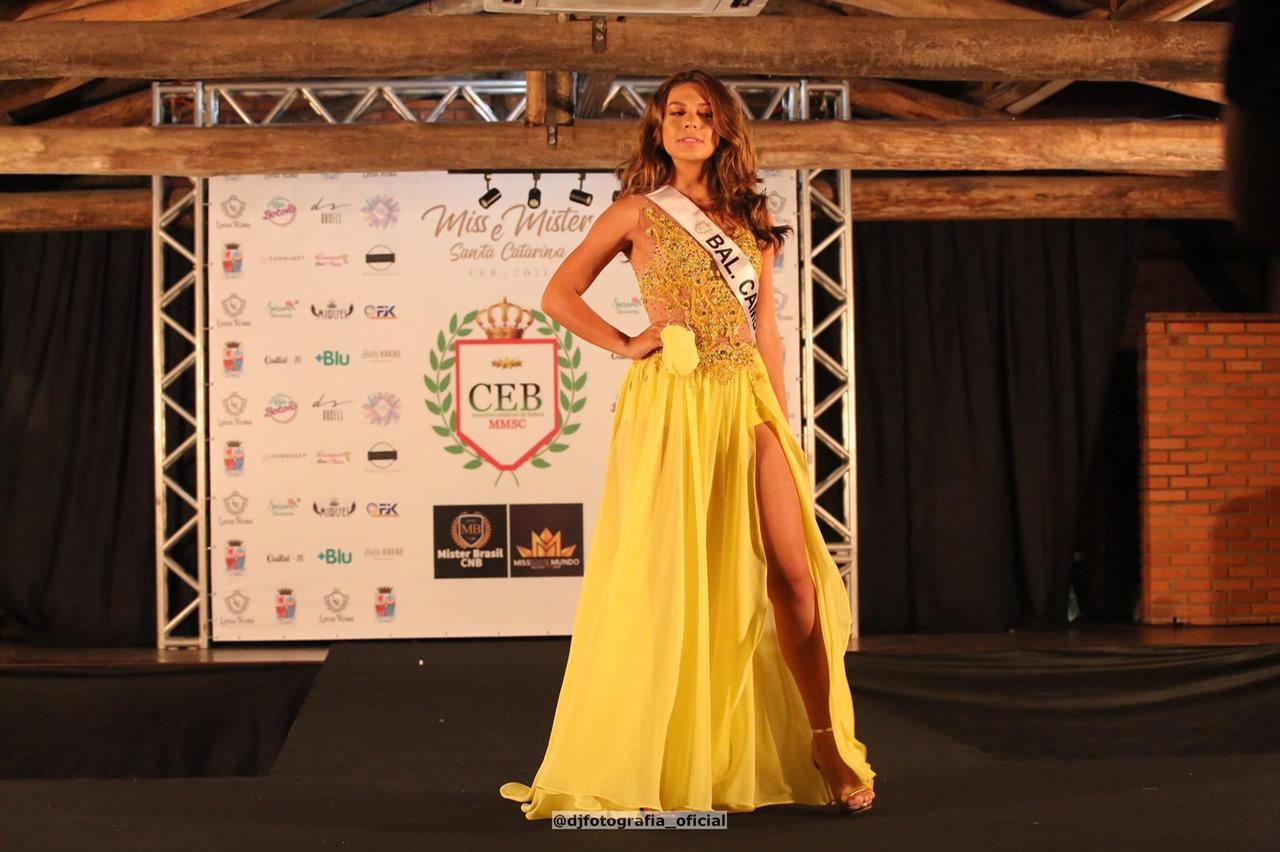 Representando Balneário Camboriú Isadora Queiroz conquistou o quinto lugar - DJ Fotografia