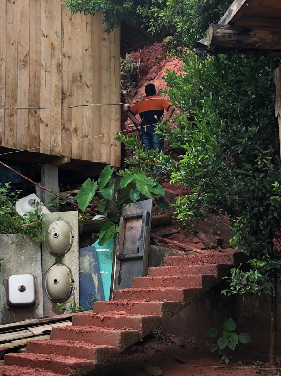 Defesa Civil de Camboriú segue vistoriando as localidades mais atingidas pelas chuvas - Secom Camboriú/Divulgação
