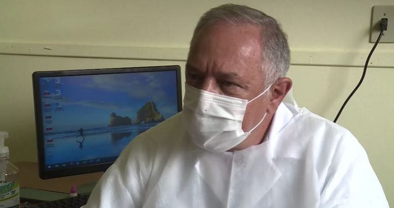 Clínico geral Armando Tarantto foi criticado pelo protocolo – Foto: Reprodução/NDTV