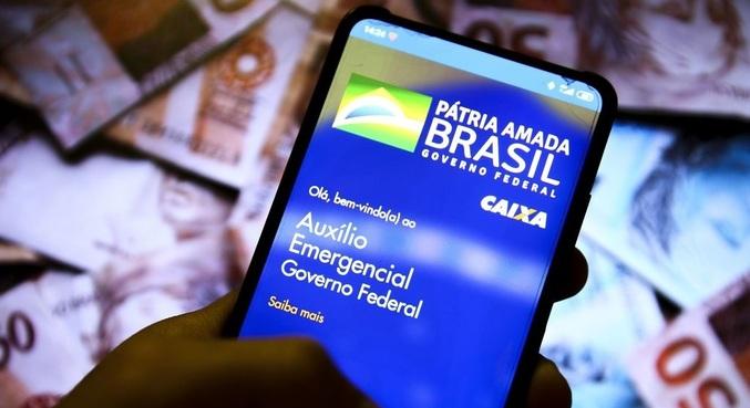 Ao todo 45,6 milhões de brasileiros serão beneficiados pela nova rodada do auxílio emergencial – Foto: Marcelo Camargo/Agência Brasil/ND