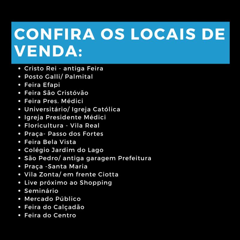 Lista de comercialização – Foto: Julia de Araujo/ND