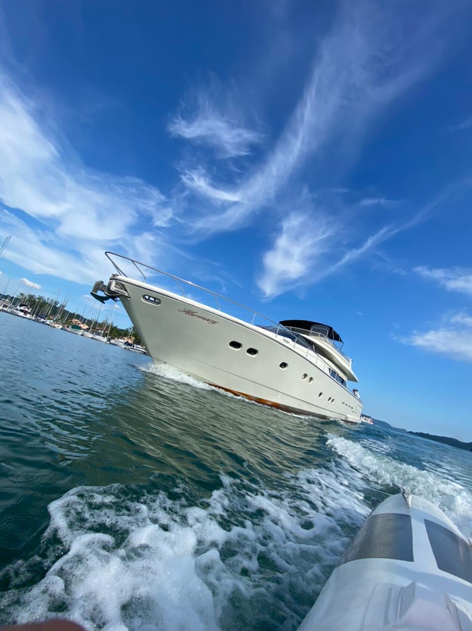 Embarcação com 80 pés deve chegar ainda neste mês de março em BC - Arquivo Pessoal/Divulgação