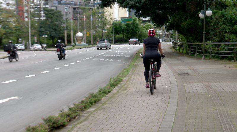 Ciclovias também devem ser mais respeitadas a partir das novas leis – Foto: Reprodução/NDTV Blumenau