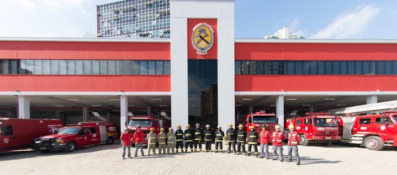 Os Bombeiros Voluntários de Joinville são exemplos do espírito voluntário da cidade – Foto: BVJ/Divulgação