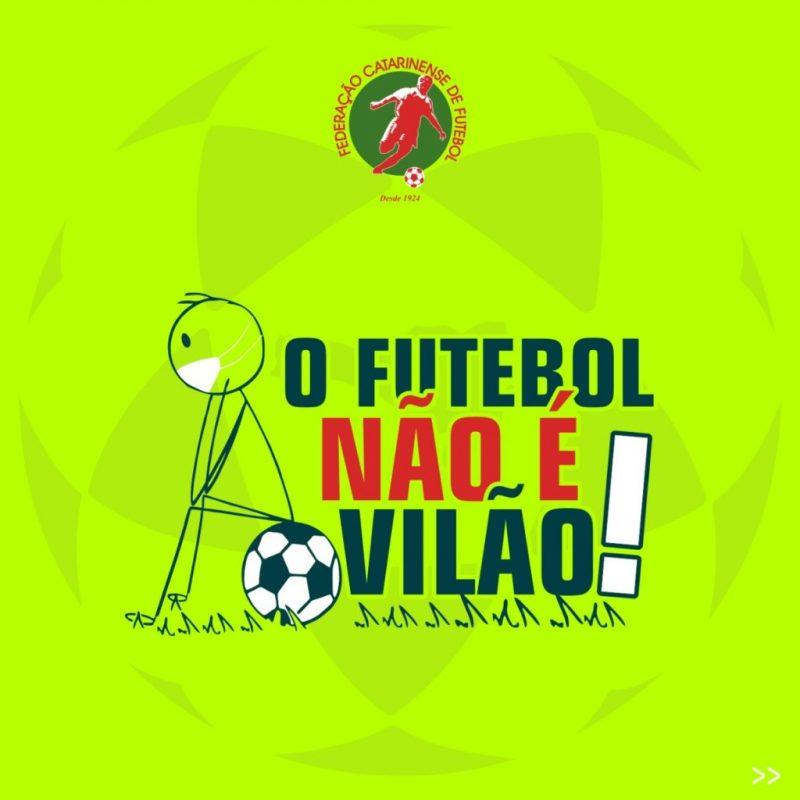 FCF é contra a paralisação do futebol – Foto: FCF/Reprodução