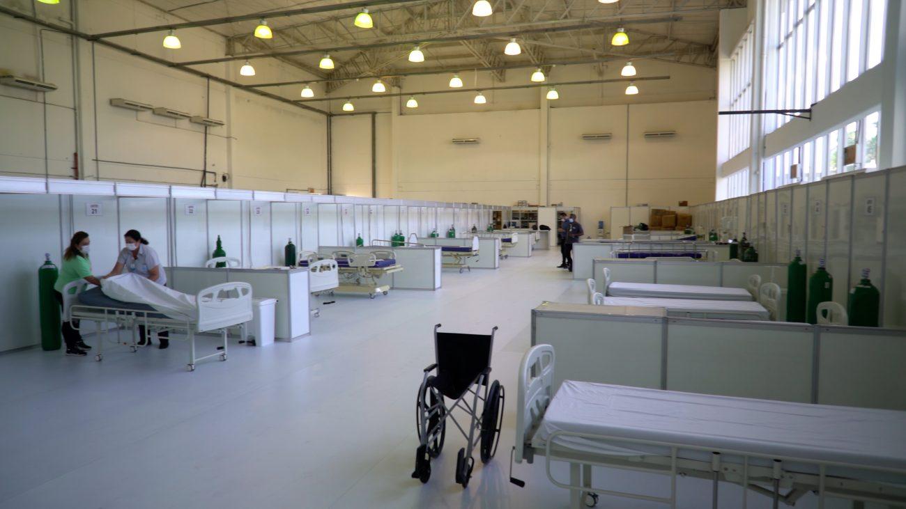 Novo Centro Municipal de Apoio à Covid-19 terá 37 leitos de enfermaria e quatro semi-UTI - Prefeitura de Itajaí/Secom/Divulgação