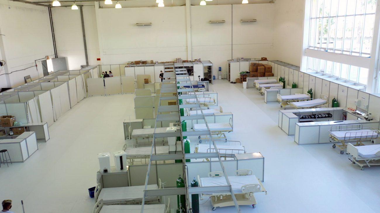Instalação foi concluída no domingo (28) - Prefeitura de Itajaí/Secom/Divulgação
