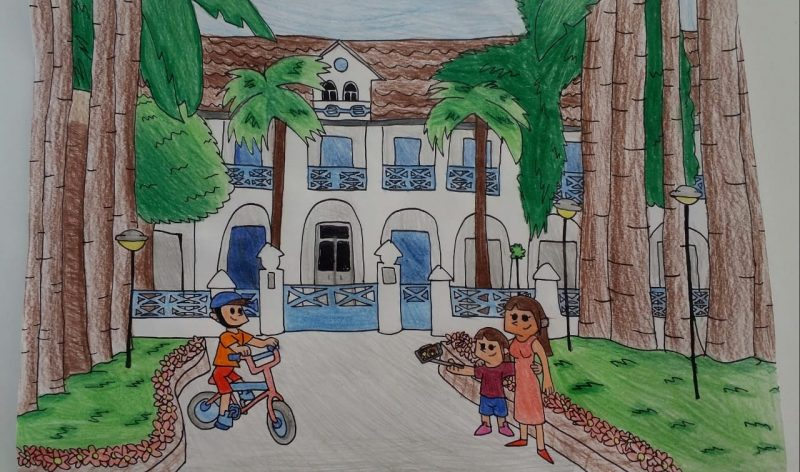 Escola Sesc Joinville – Giovanna Cunha Jerônimo – Série: 5º ano – Foto: Arquivo pessoal/ND
