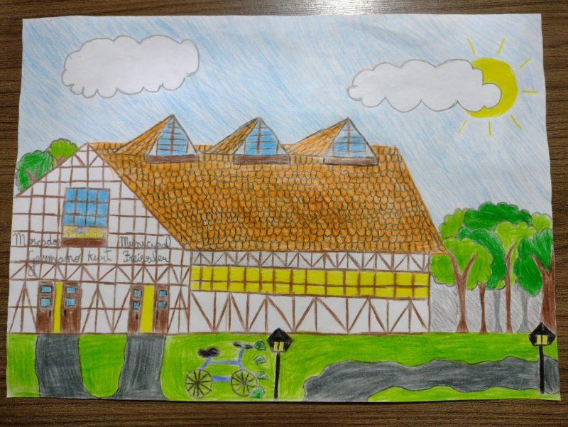 Escola Municipal Governador Heriberto Hülse – Mariana Bilobran Buttchewits – Série: 5° Ano A – Foto: Arquivo pessoal/ND