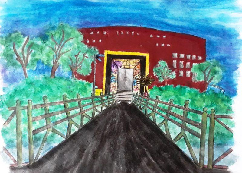 Escola Municipal Prefeito Max Colin – Isis Merli Cabral – Série: 8º Ano A – Foto: Arquivo pessoal/ND