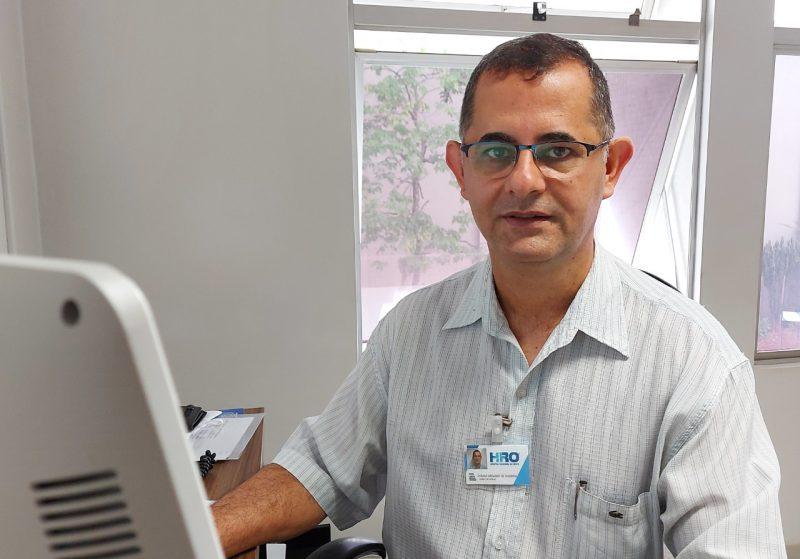 Osmar Arcanjo de Oliveira, Diretor-Geral do Hro – Foto: HRO/ND