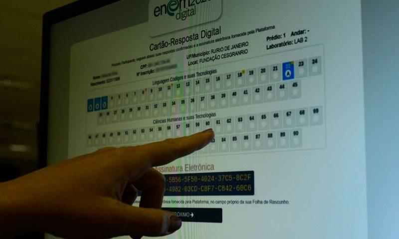 Enem digital – Foto: Marcello Casal Jr/Agência Brasil/ND