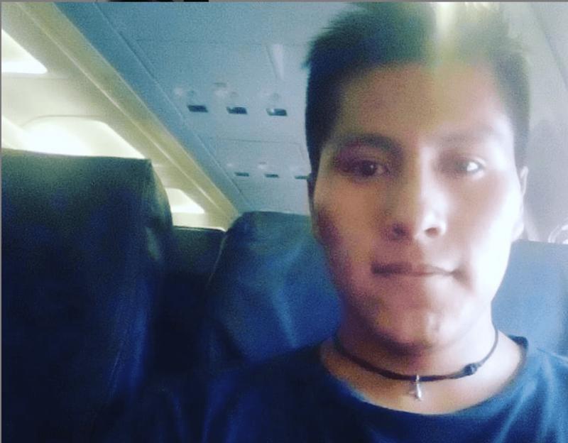 Erwin Tumiri estava no voo trágico que vitimou maior parte do elenco da Chapecoense em 2016 – Foto: Reprodução Instagram