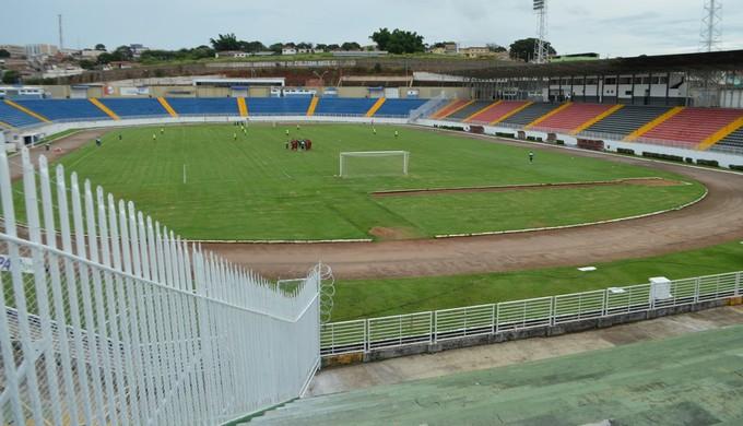 Estádio Municipal de Varginha será o palco do duelo – Foto: Lucas Soares/Boa Esporte