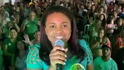 Fernanda Costa, filha de Fernandinho Beira-Mar assume cargo definitivo na Câmara de Duque de Caxias – Foto: Reprodução/Youtube